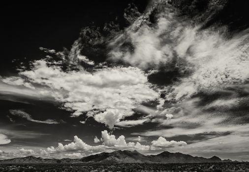 Monsoon Clouds in Arizona, USA