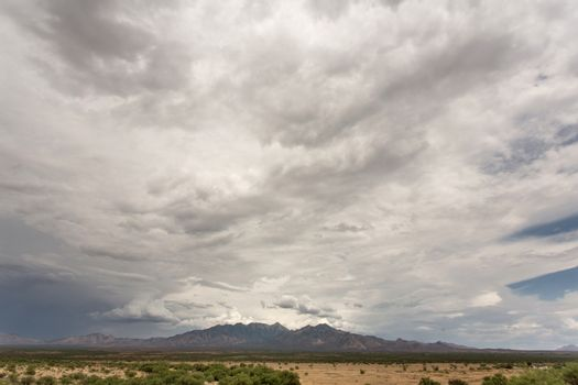 Cloud and Humidity in Desert