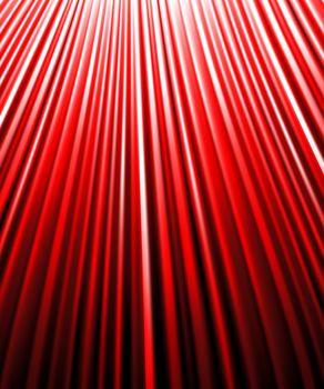 background of red luminous rays.