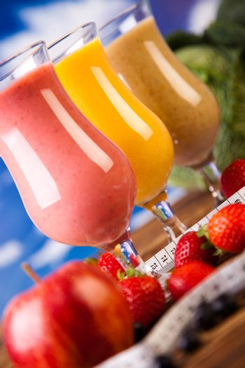 Milk shakes, sport and fitness