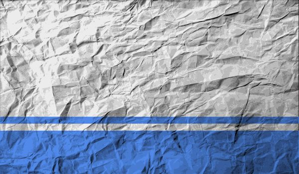 Flag of Altai Republic with old texture.