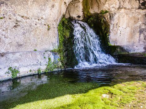 Siracusa Temple Fountain, Sicily, Italy