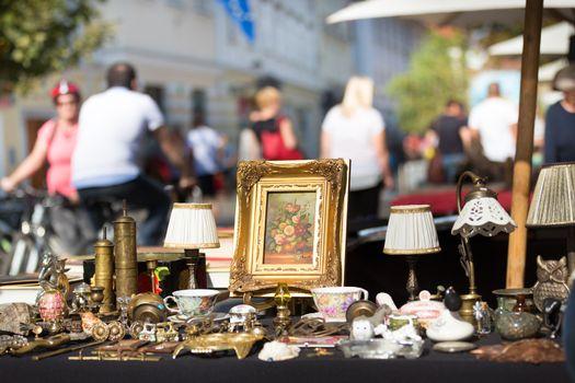 Sunday flea market.