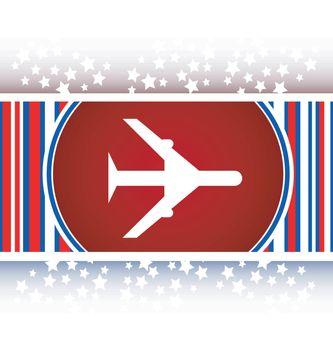 plane, travel web icon design element vector