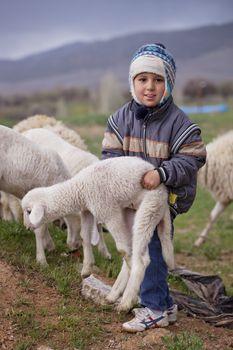 Turkish Shepherd Shows His Strength
