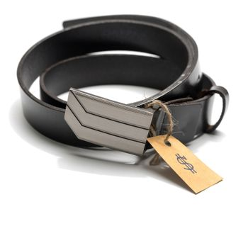 belt with price tag
