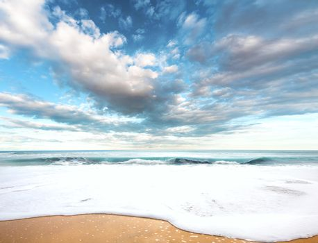 Surreal sea landscape