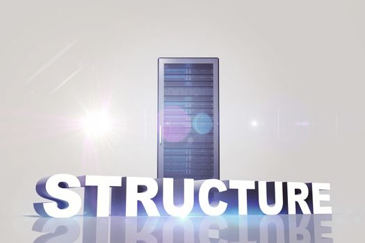 Composite image of structure