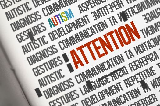 Attention against open book