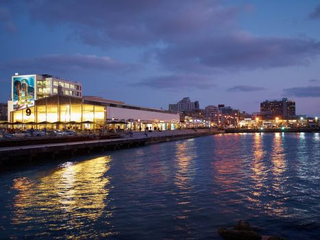 The old port of Tel Aviv Israel tourist attraction restored dining and commercial area