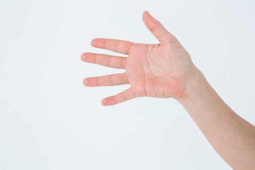 Open hand waving