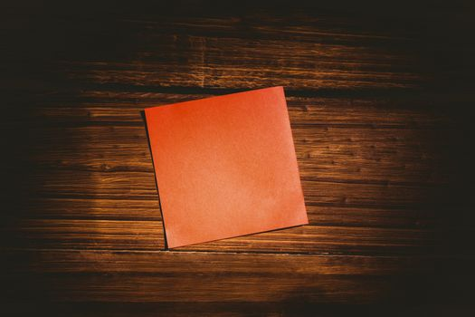 Red post it