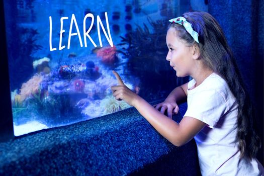 Composite image of learn