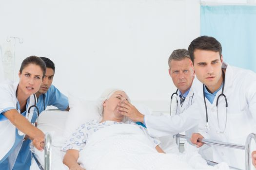 doctor at the emergency