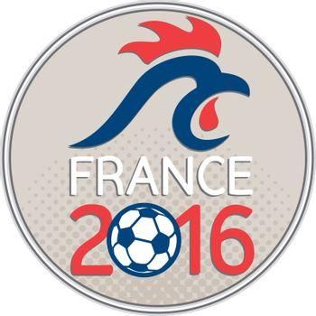 France 2016 Football  Europe Championships Circle