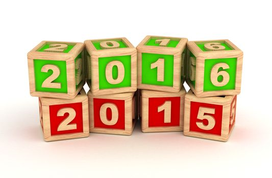 New Year 2016 and old 2015