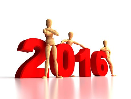 2016 New Years Team