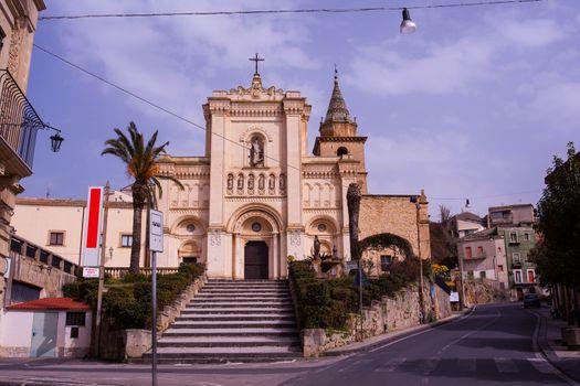 View of Chiesa Reale Abbazia di San Filippo d'Agira or Chiesa di Santa Maria Latina, Sicily