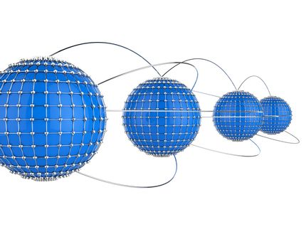 Interconnected Network Means Connecting Connectivity And Technology