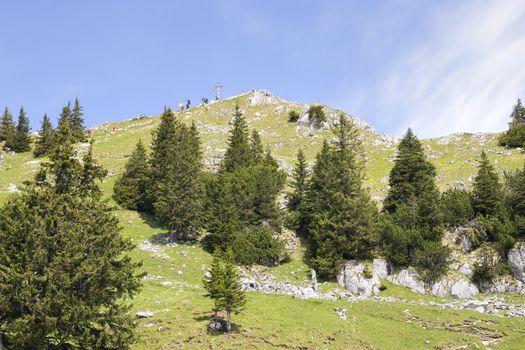 Summit Breitenstein Bavaria Alps