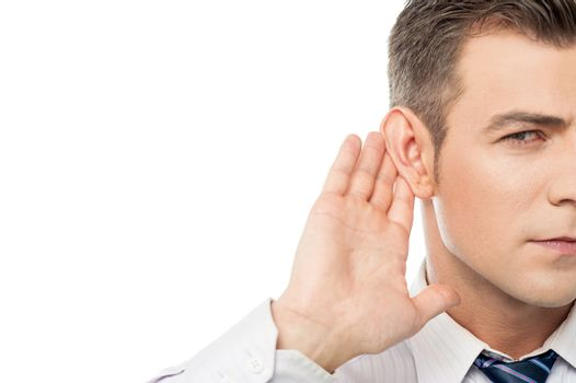 Speak up please i can't hear you !