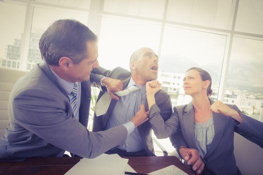 Quarreling in business team