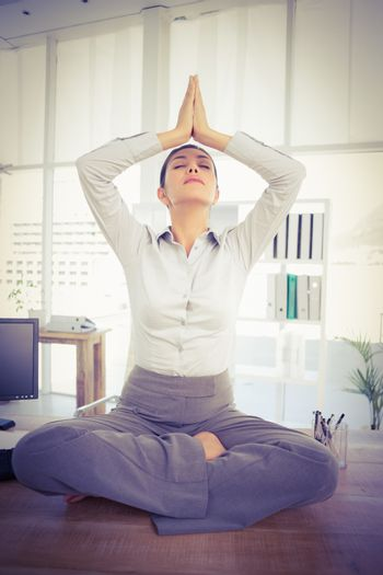 Relaxation of businesswoman