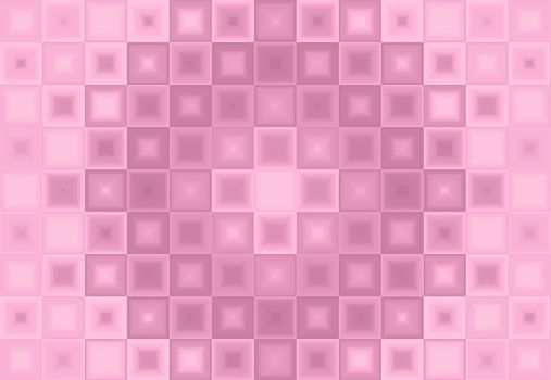 Abstract pink background of squares