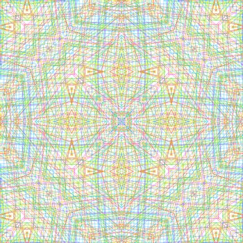 Abstract background with color concentric pattern