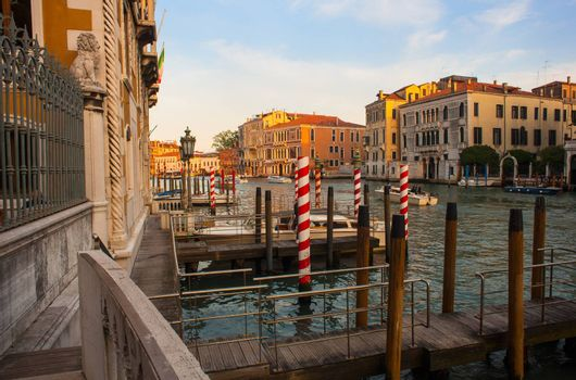 View of Venice, famous city in Italy
