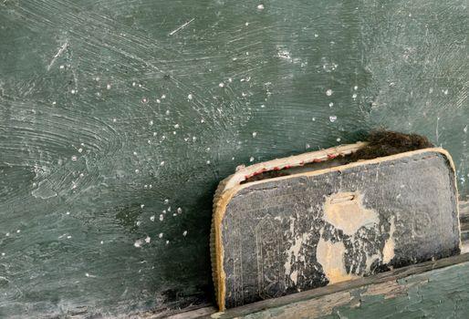 Old Chalkboard Eraser