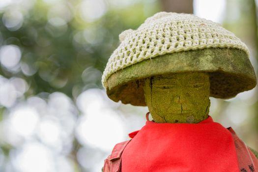 Jizo Statue with Red Apron