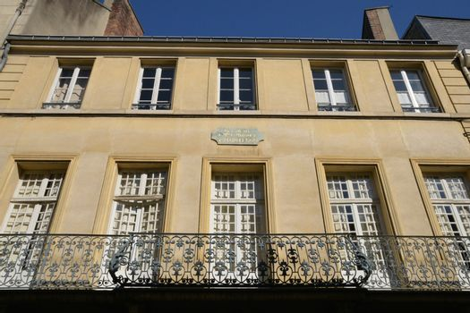 Ile de France, the picturesque city of Saint Germain en Laye