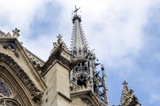 Sainte-Chapelle (The Holy Chapel) in Paris