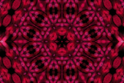 Bright abstract concentric pattern background