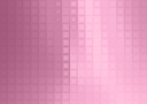 Abstract soft pink background of squares