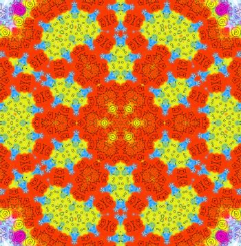 Abstract bright color pattern
