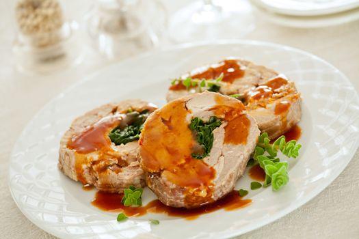 Stuffed Roasted Pork