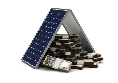 Ukrainian Hryvnia Energy Saving
