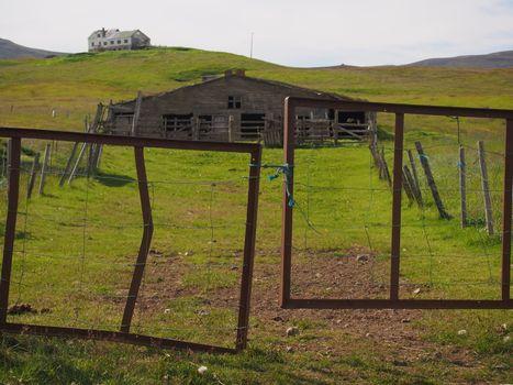 Abandoned farm, Iceland