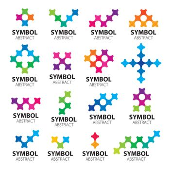 Big collection of vector logos modules