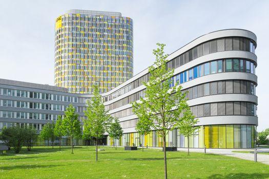 Headquarters ADAC club European automobile association of emerge
