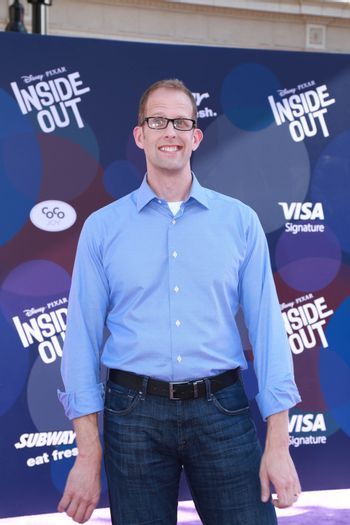 """Pete Docter at the """"Inside Out"""" Premiere, El Capitan Theatre, Hollywood, CA 06-08-15/ImageCollect"""