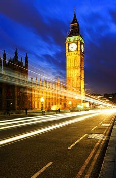 London spirit by night