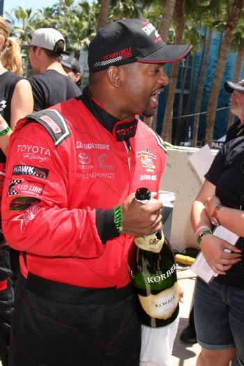 Alfonso Ribeiro at the 38th Annual Toyota Pro Celebrity Race,  Long Beach, CA 04-18-15/ImageCollect