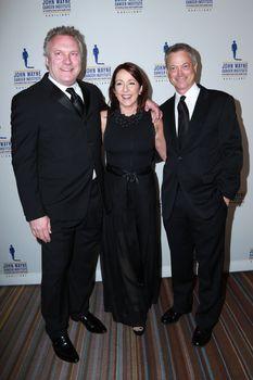 David Hunt, Patricia Heaton, Gary Sinise at the 30th Annual John Wayne Odyssey Ball, Beverly Wilshire Hotel, Beverly Hills, CA 04-11-15/ImageCollect