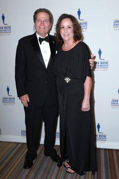 Patrick Wayne, Anita Swift at the 30th Annual John Wayne Odyssey Ball, Beverly Wilshire Hotel, Beverly Hills, CA 04-11-15/ImageCollect