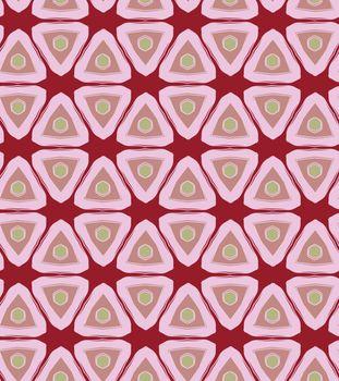 Triangular Retro Seamless Pattern