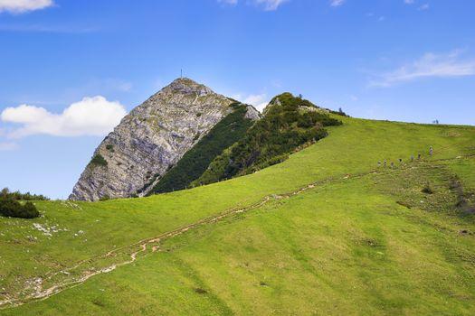 Summit Aiplspitz Bavaria Alps