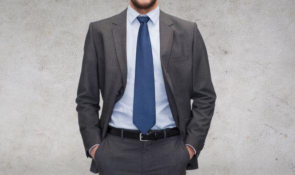 buisnessman in suit